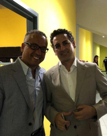 Con Juan Diego Florez con il quale ha condiviso importanti produzioni