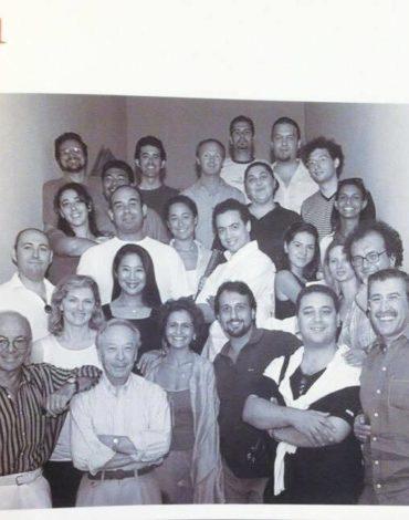 Dove tutta la mia storia rossiniana ebbe inizio con il mio adorato Maestro Alberto Zedda e tanti amici carissimi - Accademia Rossiniana di Pesaro- 2001
