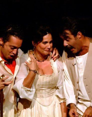 Flaminio di Pergolesi- Teatro di Jesi- 2005 con Filippo Morace e Laura Cherici
