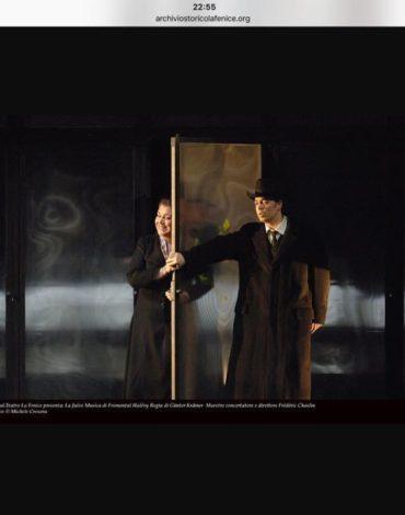 Juive - Halevy - Teatro La fenice di Venezia con Neil Schikoff 1