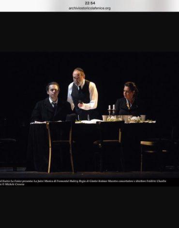Juive - Halevy - Teatro La fenice di Venezia con Neil Schikoff 3