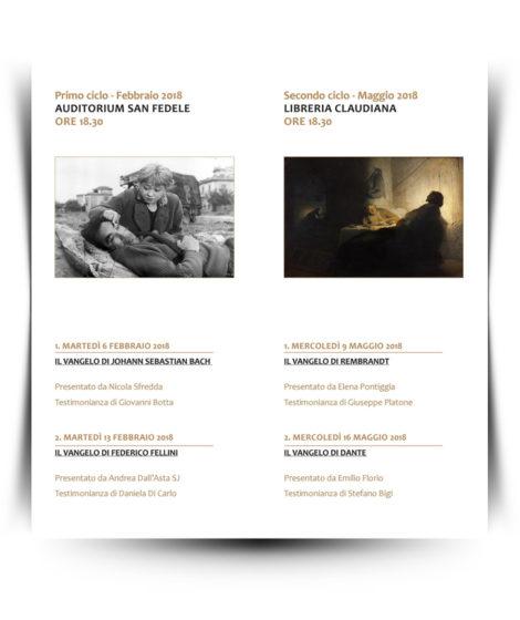 Cicli seminari sui Vangeli 2018